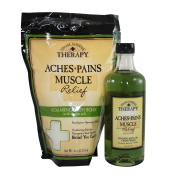 Village Naturals Therapy Aches + Pains 2 Piece Set Featuring