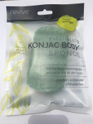 Konjac Green Tea Exfoliating Body Sponge