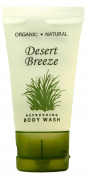 Desert Breeze Body Wash, 30ml Tube With Flip Cap With Organic Aloe And Honey