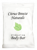 Citrus Breeze Naturals Body Bar With Organic Aloe Vera Sachet