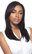 Haircloset's Outre Simply Quick Weave Human Half Wig BRAZILIAN NATURAL STRAIGHT