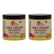 "Alikay Naturals Shea Yoghurt Hair Moisturiser 240ml ""Pack of 5.1cm"
