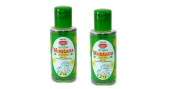 2 x Sunny Arnica Montana Hair Oil With JAC (Jaborandi, Arnica & Calendula) by Bakson's - 100ml