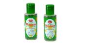 2 x Sunny Arnica Montana Hair Oil With JAC (Jaborandi, Arnica & Calendula) by Bakson's - 100ml