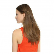 Joyci 1 Pcs Unique Vintage Flower Hair Comb Clips Women's Bronze Floral Bobby Pin