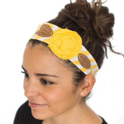 Vintage Rose Wraps Headband