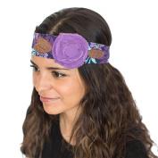 Vintage Rose Wraps Headband