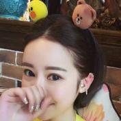 Dorisue Japan Line App Brown Bear Cony Sally Doll Headband Hair band Hoop securing hair
