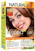 Naturalife Premium Light Brown Henna Powder