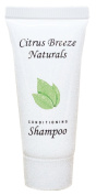 Citrus Breeze Naturals Shampoo 25ml With Twist Cap With Organic Aloe Vera