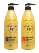 Somang Liposomal Coenzyme Q10 Hair Treatment Shampoo 720ml + Treatment Rinse 720ml Set