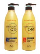 Somang Liposomal Coenzyme Q10 Hair Treatment Shampoo 720ml + Treatment Rinse 720ml Set