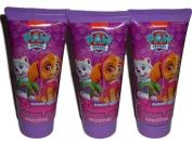 3 Paw Patrol Everest & Skye Barking Berry Kids Shampoo 180ml Each