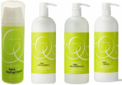 DevaCurl DUO No-Poo, +One Condition, +Light Defining Gel, 950ml+Styling Cream, 150ml