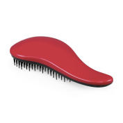 Elfina Detangling Hair Brush Detangler Hair Comb---Red