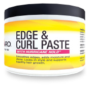 Good2Gro (NEW) Edge & Curl Paste with Hurricane Hold - Smoothes Unruly Edges, Locks-In Style , Adds Moisture, Shine And Control.