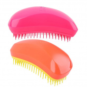XTEAR Detangling Hair Brush-best combe 2 pack colour 22