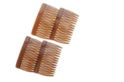 Tortoise Multi-Purpose Hair Combs - Set of Four