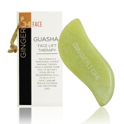 GUA SHA Scraping Massage Tool - GUASHA JADE - GUA SHA Massage Tool Set Ultra Smooth for Natural Face Lift and Facial Treatment