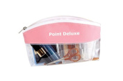 Point Deluxe Pink Pouch and Cosmetic Bag - Durable Makeup Bag for Cosmetic, Personal and Travel Accessories