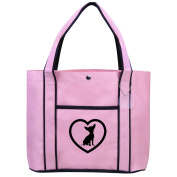 Fashion Tote Bag Shopping Beach Purse Chihuahua Heart
