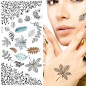 Supperb® Temporary Tattoos - Leaves