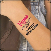 Temporary Tattoo 4 Bachelorette Vegas Party Ultra Thin Quality Tattoos
