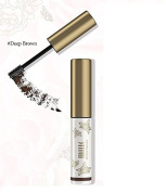 Mille 3D Brow Mascara Waterproof, Deep Brown