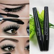 Black Waterproof Curling Tick Eye Eyelashes Lock Colour Curled Lashes Mascara #1+#2 Lengtheing+Thick
