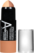 Maybelline New York Facestudio Master Contour V-Shape Duo Stick, Medium, 5ml