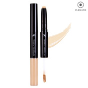 [CLEMATIS] Stick & Liquid Dual Type Two Way Concealer 1g/3g - 2 Colours