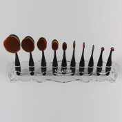 Kingfansion Makeup Cosmetic Organiser Display Stand For Toothbrush Foundation Brush
