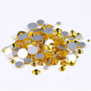 Nizi Jewellery Citrine Colour Rhinestones For Nails Mixed Sizes About 1000pcs