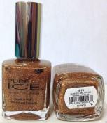 Bari Pure Ice Nail Polish, 1013 Studette (Gold Glitter), 15ml