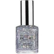 Bari Pure Ice Nail Polish, 1005 Dazzle Me (Silver Sparkle), 15ml