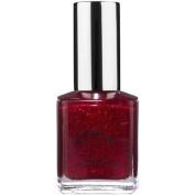 Bari Pure Ice Nail Polish, 1026 Hit The Floor (Dark Red Glitter), 15ml