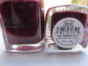 Bari Pure Ice Nail Polish, 1254 All Vamped Out (Dark Purple), 15ml