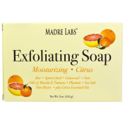 Madre Labs, Exfoliating Soap Bar, Citrus, 150ml (141 g) 10EA