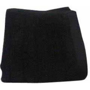 Better Homes and Gardens Extra-Absorbent Textured Towel Collection, Hand Towel, Rich Black