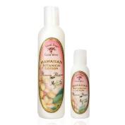Hawaiian Botanical Lotion 250ml Bottle With Travel Size 60ml Bottle