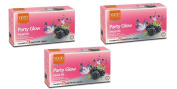 3 x VLCC Party Glow Facial Kit - For instant glow for that special occasion
