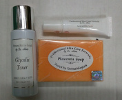 Glycolic Toner, Gel and Placenta Soap