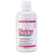 Divine Triple-Action Glycolic Acid 5% AHA Exfoliating Creme Cleanser