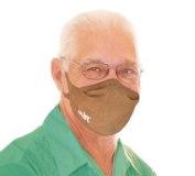 MyAir Comfort Mask, Starter Kit in Buckskin - Made in USA.