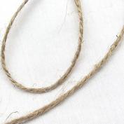 Chenkou Craft 50M Twisted Burlap Jute Twine Rope Natural Hemp Linen Cord String