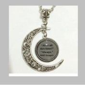 Book Page Pendant After All This Time, Always Vintage Pendant Locket Necklace