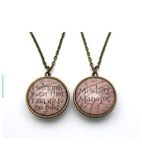 Double-Sided Necklace, I Solemnly Swear & Mischief Managed
