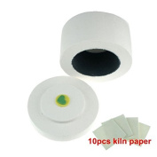 Low Price Wholesale 12x8.3cm Best Mini Glass Fusing Kiln + 10pcs Kiln Paper