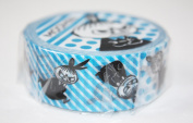 Moomin Washi Tapes Little My in blue