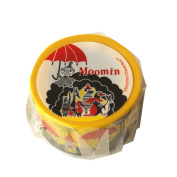 Moomin Washi Tapes Picture book series Little My and Umbrella